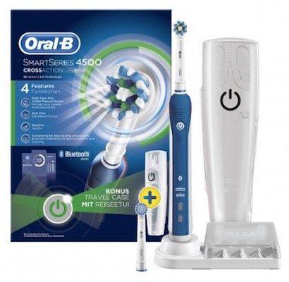 Oral B Pro 4500 elektrische Zahnbürste für 59,90€ (statt 89€)