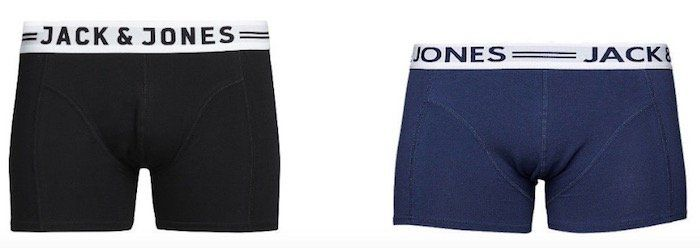 Jack & Jones Herren Boxershorts   3er Pack bis 2XL für 19,99€