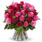 """Blumenstrauß """"Crazy in LOVE"""" mit 41 Rosen für 24,98€"""
