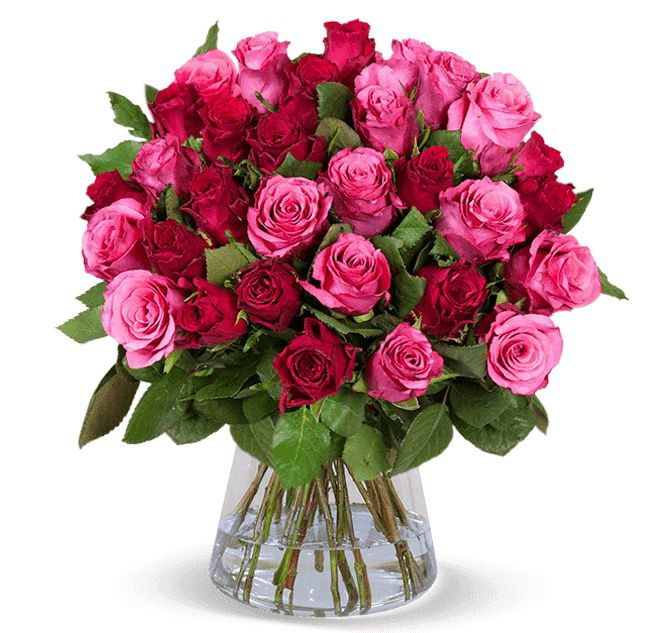 Vorbei! Blumenstrauß Crazy in LOVE mit 45 Rosen für 24,98€