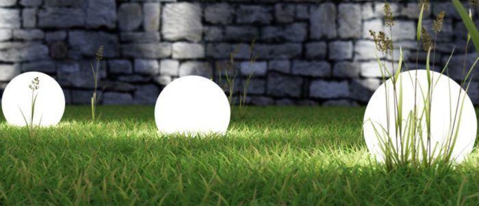 OSKAR 3er Set Garten Kugellampen Set für 49,99€