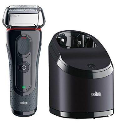 Braun Series 5   5050cc Herrenrasierer inkl. 2x CCR2 Reinigungskartuschen statt 150€ für 129€