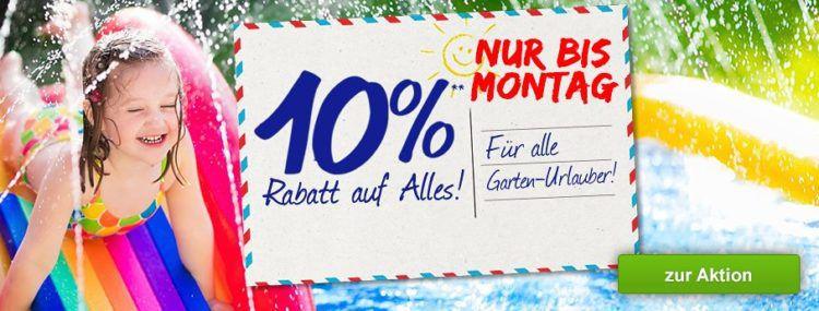 10% Rabatt auf alles bei GartenXXL   z.B. LECO Schaukelstuhl für 67,46€ (statt 89€)