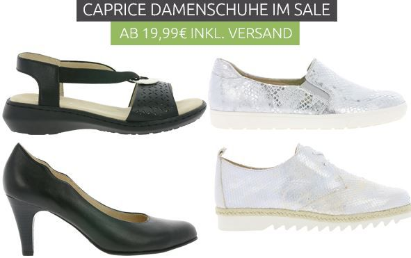 Caprice Damenschuhe Sale   z.B Caprice High Pumps ab 19,99€