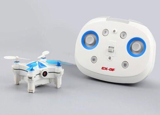 Cheerson CX OF Nano Quadrocopter (Gestensteuerung & 0,3 MP Cam) für ~37,91€