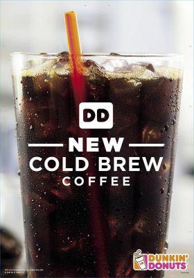 Gratis Cold Brew Kaffee bei Dunkin Donuts (App erforderlich)