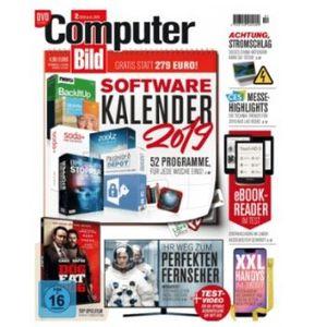 3 Monate Computer Bild mit DVD für 36,75€ + Prämie: 35€ Amazon Gutschein
