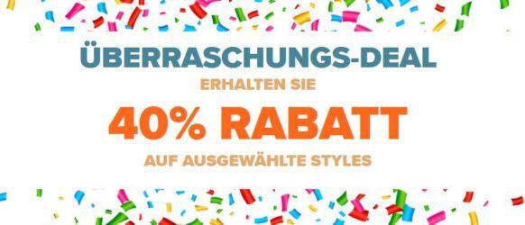 CROCS Überraschungs Deal mit 40% auf ausgewählte Styles + 30% Gutschein ab 50€ bis Mitternacht