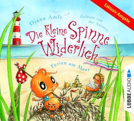 Die kleine Spinne Widerlich   Ferien am Meer (Hörbuch) kostenlos