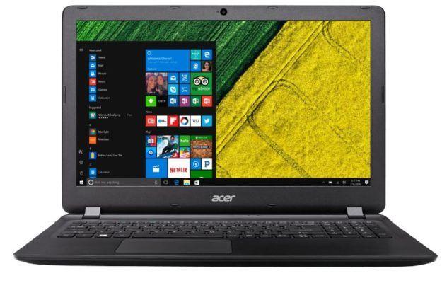 ACER Aspire ES 15   15,6 Notebook mit i3 CPU 4GB RAM und 1TB HDD  für 333€