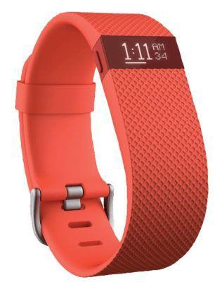 Fitbit Charge HR Fitnessarmband für 55€ (statt 124€)   nur Größe L in Grün, Orange und Rot