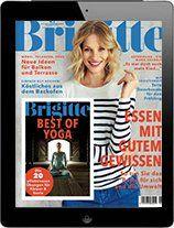 Jahresabo Brigitte als e Paper für 55,12€ + 55,12€ Verrechnungsscheck