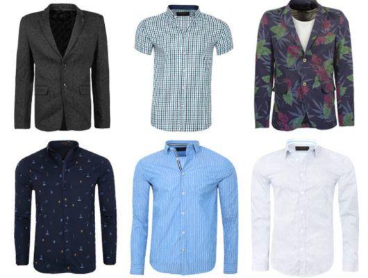Glo Story Herren Sale Shirts & Polos + VSK   Hemden ab 4,99€   Sakkos für 19,99€