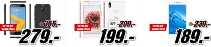 Media Markt Smartphone Fieber: z.B. Samsung S7 für 399€ Samsung S 7 edge für 444€    HTC 10 iron Cast für 279€