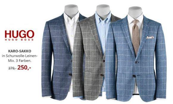 Hirmer Business Sale: Sakkos, Hemden & Anzüge reduziert   z.B. Camel Active Sakko für 90€ (statt 150€)