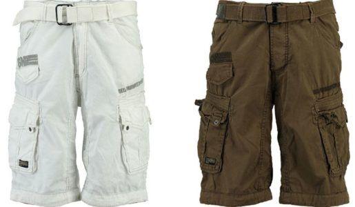 Geographical Norway Parasol Herren Bermuda Shorts für je 32,99€