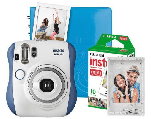 Fujifilm Instax Mini 25 Sofortbild Kamera inkl. Magic Set für nur 84€