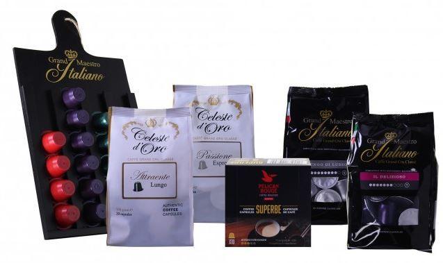 Kapselfestival (100 St.) für Nespresso® + gratis Kapselhalter für nur 23,99€