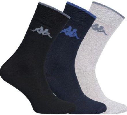 Kappa Herren Socken   20er Set in 3 Farben für je 14,99€