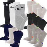9 Paar Kappa Sportsocken oder Sneaker Socken für 9,99€