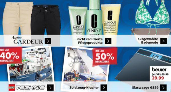 Karstadt Kracher mit z.B. 20% extra Rabatt auf Sportfashion im Sale   bis zu 40% Rabatt auf LEGO Technic und mehr...