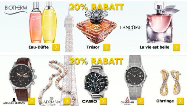 Karstadt Kracher mit z.B. 20% Rabatt auf Uhren, Düfte, Fashion, CAMP DAVID Herren Poloshirts für 39,99€