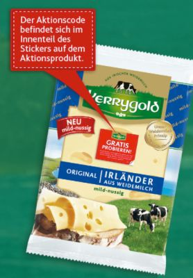 Kerrygold Irländer Käse gratis