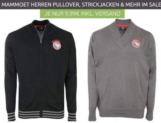MAMMOET Herren Pullover, Strickjacken im Restgrößen Sale für nur 9,99€