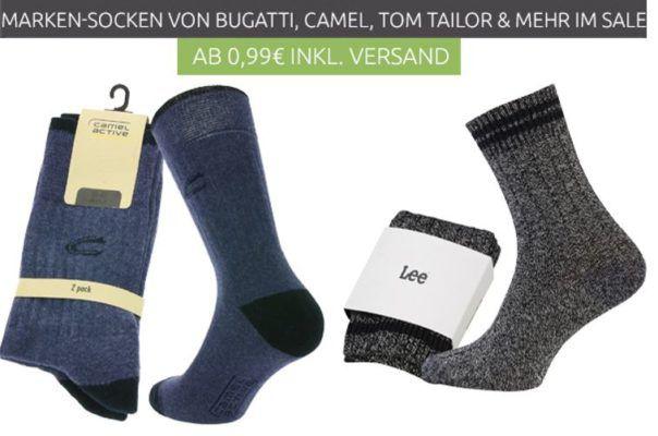 Outlet 46 Socken Sale ab  3,99€   z.B. 3er Pack Playboy Freizeit Socken für 3,99€