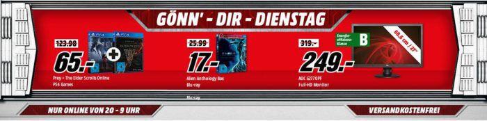 günstige Gamer Tastaturen + Maus Bundle uam. im Media Markt Dienstag Sale z.B. SPEEDLINK Gaming Maus + Mauspad XXL für 22€