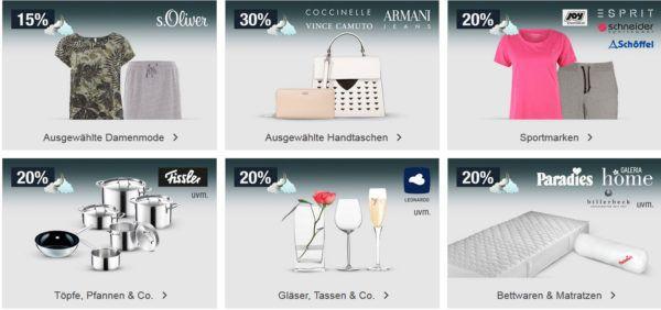 20% Rabatt auf Töpfe und Pfannen von Fissler, Gläser von Leonadr, Spielwaren, Fashion uvm.   Galeria Kaufhof Mondschein Angebote