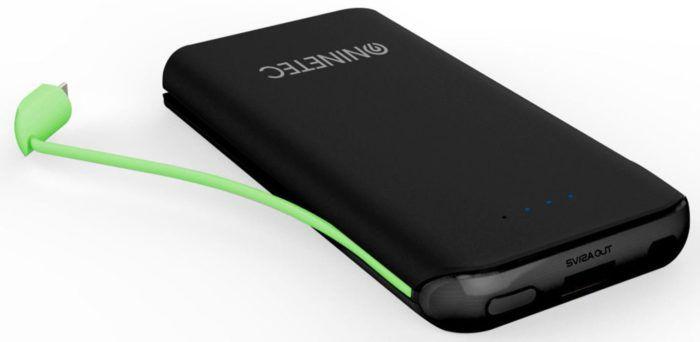 NINETEC NT 610 PowerBank   10.000mAh mit Lightning und Micro USB für 16,99€ (statt 29€)