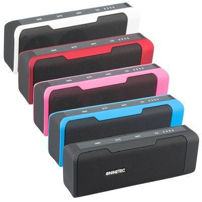 Ninetec Powerbeat Bluetooth Lautsprecher mit integrierter Powerbank für 19,99€ (statt 30€)