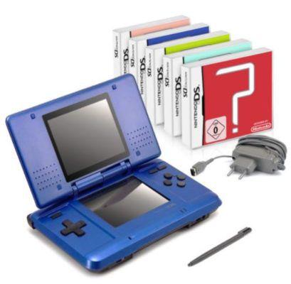 Nintendo DS Lite Handheld Konsole + 5 gratis Spiele für 39,99€