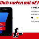 Samsung Galaxy S7 inkl. 15GB o2 Free LTE Allnet für nur 31,28€/Monat