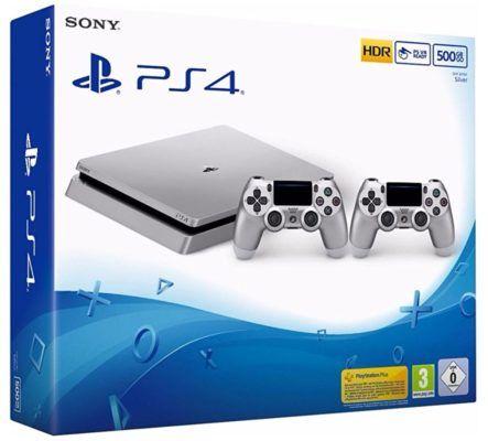 Prime Day: PlayStation 4 Slim 500GB Silber +2.ter Controller für 269€ (statt 349€)