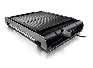 Philips HD4417/20 Tischgrill aus Edelstahl mit 2000 Watt für 49,40€ (statt 69€)