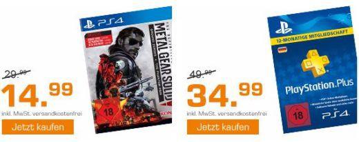 Saturn Weekend Sale: u.a.  Xbox One S 500 GB + 2. Controller inkl. 7 Spiele für 279€   Battlefield 1 [PC, XBox one, PS4] für 19,99€