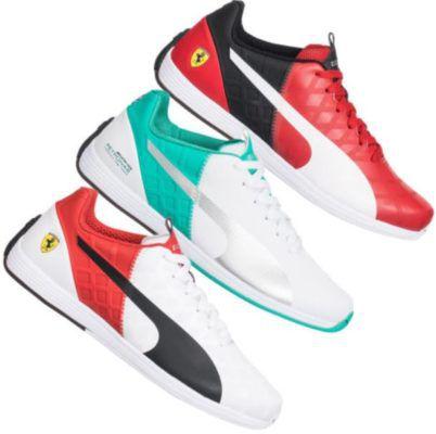 PUMA Evo 1.4 Speed   Herren Sneaker im Ferrari u. Mercedes Design für je 23,14€ (statt 47€)
