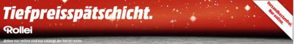 Media Markt Rollei Tiefpreisspätschicht   z. B. Rollei Actioncam 415 + Zubehör Set für 69€