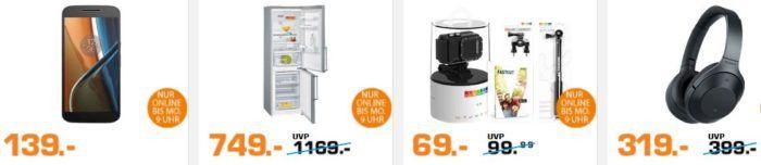 Saturn Super Sunday Deals: u.a. De'Longhi ECAM 25.467.S Kaffeevollautomat statt 599€ für 479€