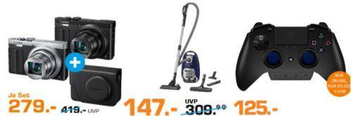 Saturn Late Night Shopping Übersicht   u.a.: ROWENTA RO 6441 EA Silence Force Staubsauger statt 203€ für 147€