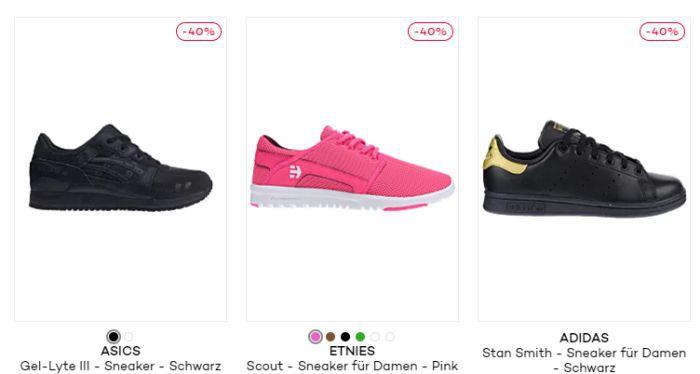Bis zu 70% Rabatt auf ausgewählte Sneaker bei Planet Sports + 15% Extra Rabatt