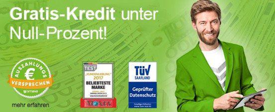 Wieder da! Smava Kredit über 1.000€   nur 994€ zurückzahlen