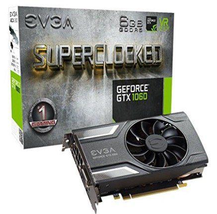 EVGA GeForce GTX 1060 SC Gaming Grafikkarte mit 6GB für 263,13€ (statt 299€)