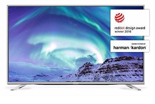 Sharp LC 55CUF8472ES   55 Zoll UHD WLan Smart TV mit triple Tuner für 477€