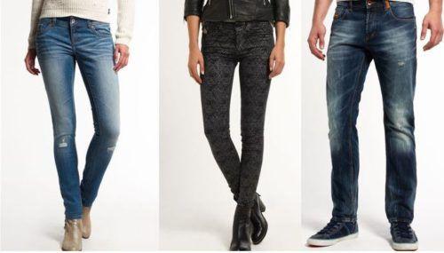 Superdry Damen und Herren Jeans 25 Modelle für je nur 27,95€