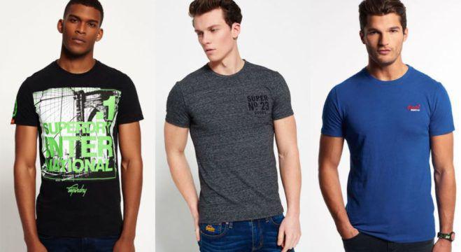 Superdry Damen und Herren T Shirts   54 Modelle für je 13,95€