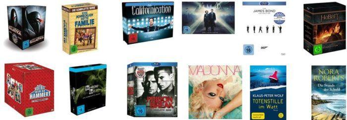 Thalia mit 16% Rabatt auf Musik, Blu rays und DVDs bis Mitternacht!