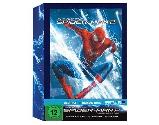 The Amazing Spider Man 2: Rise of Electro Blu ray (Lightbox) für 11€ (statt 15€)